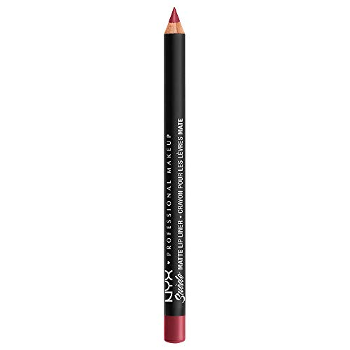 nyx lip liner deep red - 9