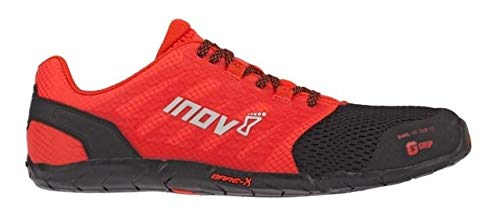 Inov-8 Mens Bare-XF 210 V2 - Barefoot Minimalist Cross Training Shoes - Zero Drop - Wide Toe Box - Versatile Shoe for Powerlifting & Gym - Calisthenics & Martial Arts - Black/Red 12 M US by Inov-8 (Image #3)