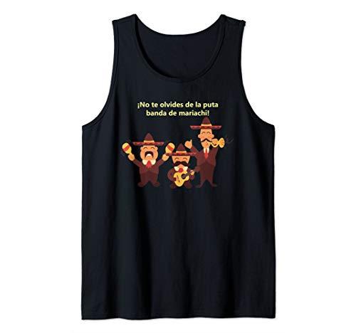 Mariachi Band Humor banda de mariachi humor shirt Tank Top