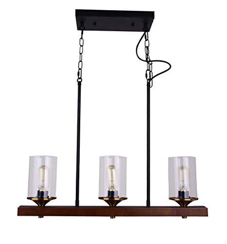 Amazon.com: CLFINE Lámpara de techo colgante de metal y ...