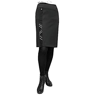 24K Trends Flattering, Easy Care Pull-On Skirt With Embroidery Accents hot sale