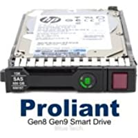 EH0146FBQDC Compatible HP G8 G9 146-GB 6G 15K 2.5 SAS SC (2 PACK)