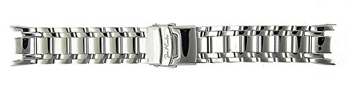Joe Rodeo Master 24mm silver color stainless steel watch band by Joe Rodeo