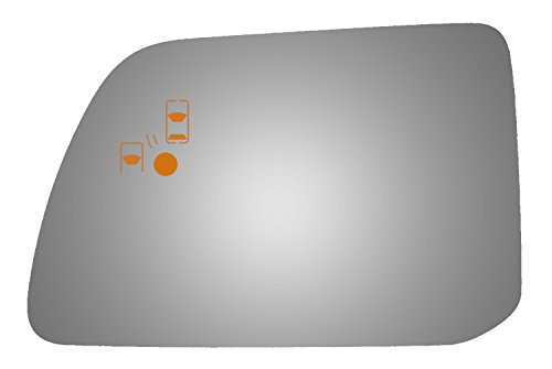 Ford Blind Spot Mirror - Burco 4453BC Driver Side Mirror Glass w/Blind Spot & Cross Path for Ford Edge, Lincoln MKX