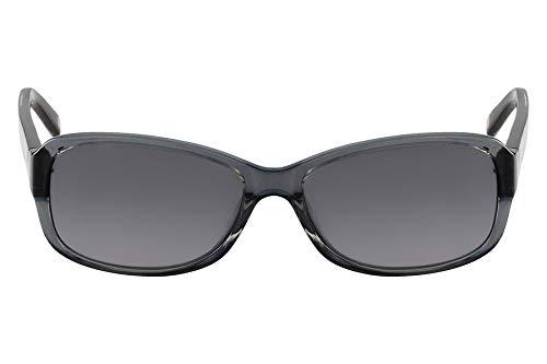 870283f23ff83 Óculos Nine West Nw588S 029 Cinza Translúcido Estampado Lente Cinza Flash  Tam 57 ...
