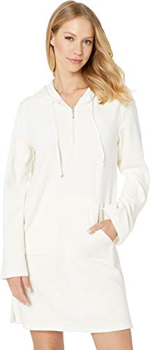Juicy Couture Women's Microterry Hooded Dress Angel Small ()