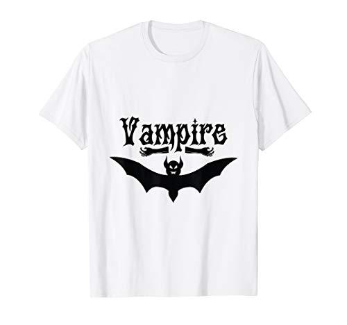 Wampire Bat Wings Classic Graphic Halloween Costume T Shirt
