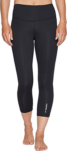 Brooks Running Pants - Brooks Women's Greenlight Capris Black Medium