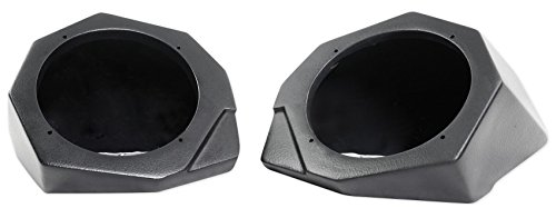 Can-Am Maverick X3 All-Years 6.5'' Speaker Pod Enclosures Front Kick Panels by SSV Works (Image #2)