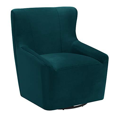 Avenue Swivel - Abbey Avenue A-ENZ-1810E Enzo Swivel Chair in Peacock