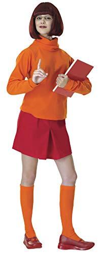 Rubie's Costume Scooby-Doo Deluxe Adult Velma Costume,