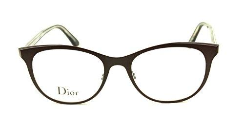 f60a9c584f Christian Dior Montaigne 13 Women Eyeglasses Burt Black Crystal Frame /  (0MVZ)