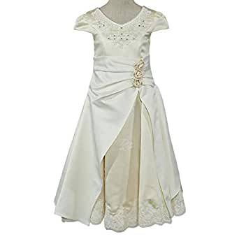 Nimble Gown For Girls - 4-5 Years, Beige