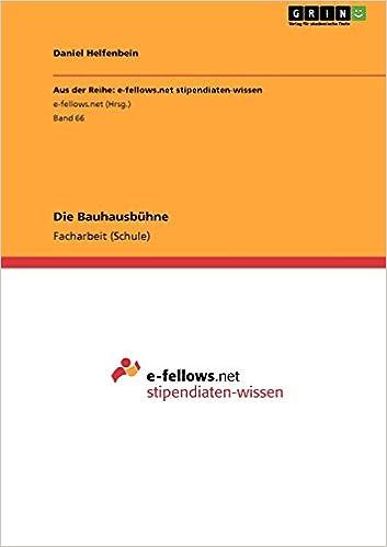 Book Die Bauhausbühne