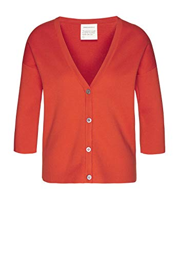 Glossy Orange Cárdigan Liso Armedangels Mujer Para 0IZqX