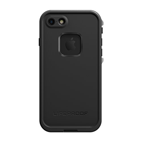 Lifeproof FRĒ SERIES Waterproof Case for iPhone 7 (ONLY) - Retail Packaging - ASPHALT (BLACK/DARK GREY)