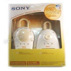 Sony 900 MHz BabyCall Sound-Sensor Nursery Monitor (Baby Call)