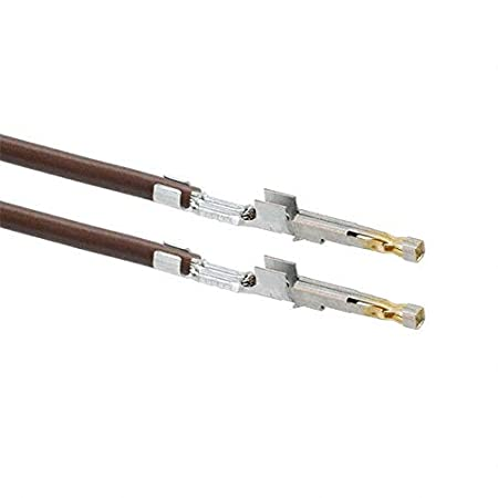 1722533111-11-N2-D 11 PRE-CRIMP 1855//19 BROWN Pack of 100