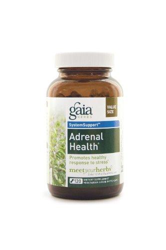 Gaia Herbs Santé surrénale, 120-capsule de bouteille