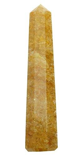 orange calcite wand - 5