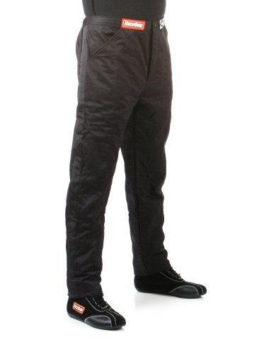 Sfi 1 Pants - RaceQuip 122005 122 Series Large Black SFI 3.2A/1 Multi-Layer Driving Pant by RaceQuip