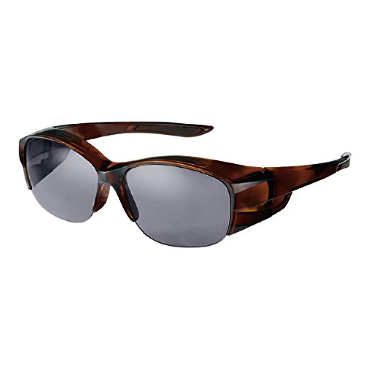 [해외] 【이시키와 료 프로 애용 브랜드】SWANS(스완스) 편광 썬글라스 안경의 위로부터 건(걸친) over글래스 OG-5