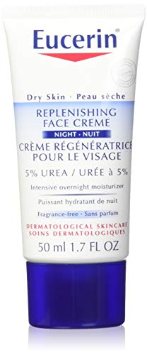 Eucerin Dry Skin Replenishing Face Cream Night 5% Urea With
