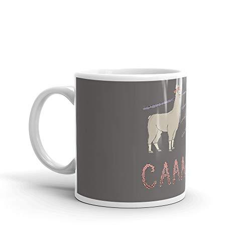 (Llamas with Hats - Carl! 11 Oz White)