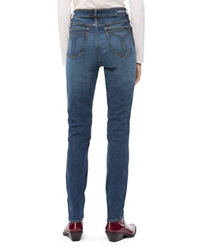 jeans met voor Klein Szcolor Skinny dameskies Calvin taille voor hoge A4jL35R
