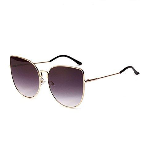 Ojo Retro Gato Gran Gafas 3 4 de Marco Color de Sol Sol Transparentes Gafas de Gafas DT wSTftqq