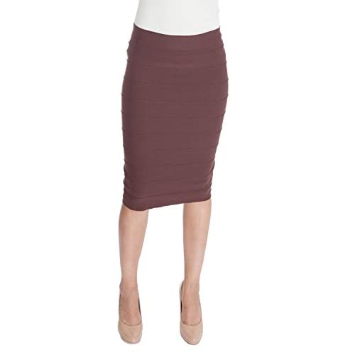 New Esteez Stretchy Pencil Skirt for Women Opaque Lightweight Slimfit Bandage style for sale