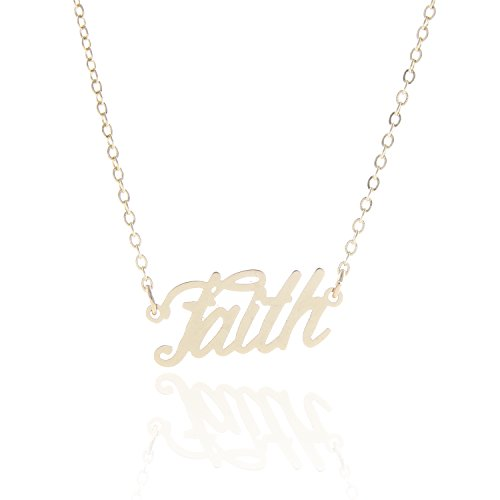 AOLO Necklace Initial Power Pendant