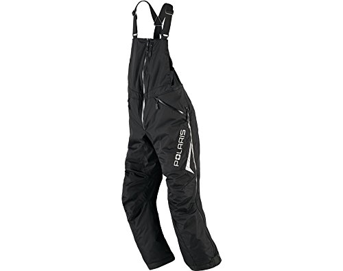 Polaris Mens Black Adventure Bib- Large