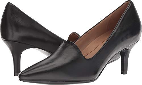 Aerosoles Women's Macrame Pump, Black Leather, 10 M US