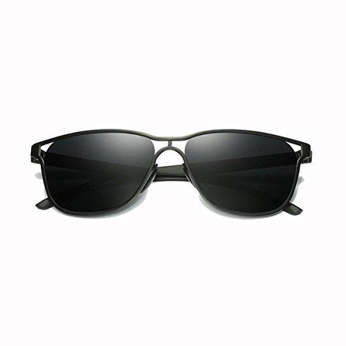 sol sol Calado 3 Conductor Hombre Gafas Conducción Metal de polarizado RAQ Informal Grandes Gafas Gafas de Color 5 RpTPnPzW