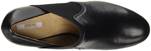 de D B Mujer Tacón Zapatos Geox Negro para Blackc9999 Inspiration qwPUSUnv