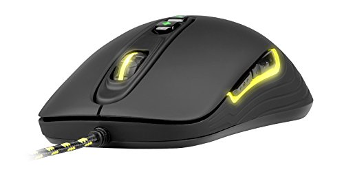 XTRFY M2 Wired Optical Gaming Mouse, 5 Buttons, Adjustable CPI, Low Friction Teflon, Pixart PMW 3310 Sensor