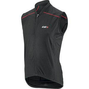 Louis Garneau Mistral Vent Sleeveless - Black/Red - Small Louis Garneau Sleeveless Jersey