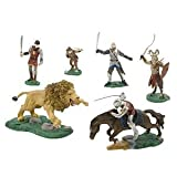 Disney Chronicles of Narnia Exclusive 6 Piece Mini PVC Figure Collector Set