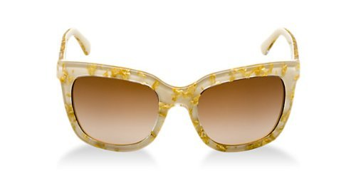 Brown Grad Lens - Dolce&Gabbana DG4197 Sunglasses-274713 Leaf Gold/Sand (Brown Grad Lens)-53mm