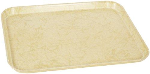 Carlisle 2216DFG029 Fiberglass Glasteel Decorative Rectangular Tray, 22.12