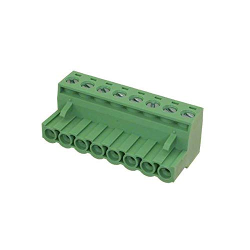 TERM BLOCK PLUG 8POS STR 5.08MM (Pack of 10)