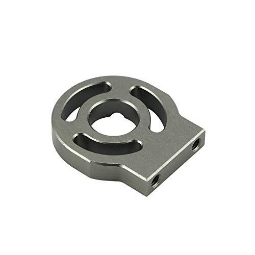 PETUNIA Aluminium Alloy 3650 3670 540 Brushless Motor Mounting Holder for 1/8 1/10 Scale Kyosho HSP SST - Sliver