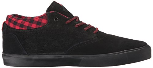 C1RCA Men's Lakota SE Skateboarding Shoe, Black/Plaid, 12 M US