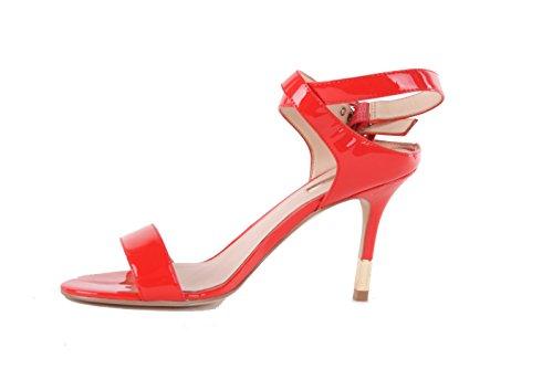 GUESS stilettos Bombas Highheels Mujer Rojo Rojo Para Sandalias Strappy RwBR1Tq