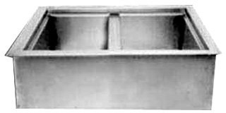 Drop In Iced Cold Pan - Wells ICP200 Cold Food Unit Drop-In Iced Cold Pan