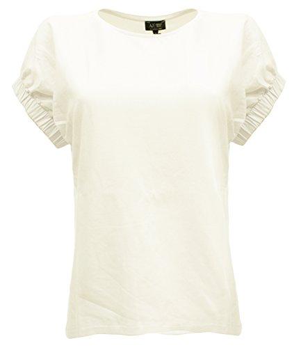 Armani - Camiseta de manga larga - para mujer blanco