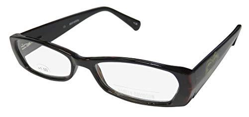Harley-Davidson 3004 Womens/Ladies Designer Full-Rim Spring Hinges Adult Size Popular Style Casual Reading Glasses/Readers (52-14-145 / Power: +1.50, Tortoise)