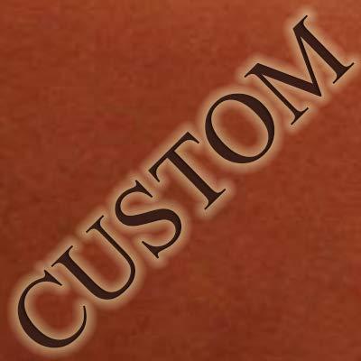 Pratesi Unisex Personalized Custom Initials Embossing Italian Leather Andrea del Sarto R A4 Portfolio Notepad Holder in Coffee
