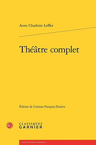 Theatre complet (Litteratures Du Monde) (French Edition)